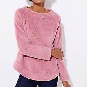 LOFT Women's NWT Fleece Sweatshirt